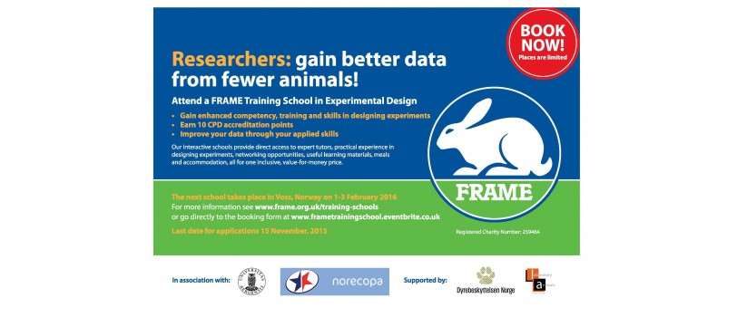 FRAME Training School dates announced